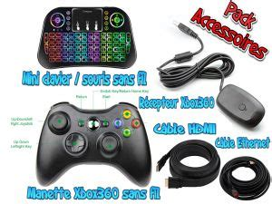 Console retro Hyperspin 2 To, processeur i5 4