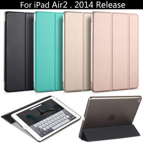 Special offer, For iPad Air 2 2014 Release ,ZVRUA PU Smart
