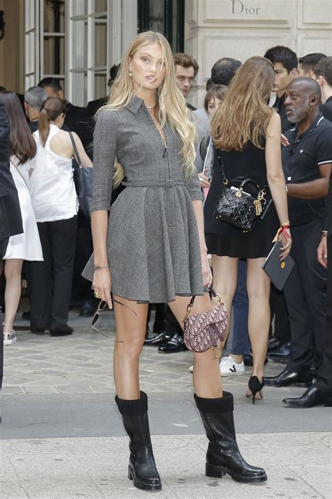 Romee Strijd - Outside the Christian Dior Haute Couture