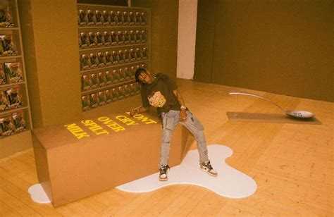 Inside Look: Travis Scott X Reese's Puffs Popup in Paris