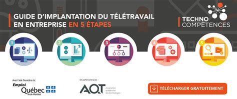 teletravail emploi quebec