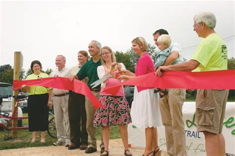Stower Seven Lakes State Trail dedicated in Amery