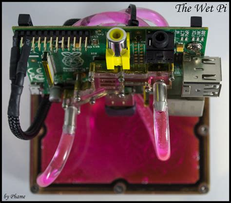 The Wet PI : Water Cooling pour Raspberry Pi - Semageek
