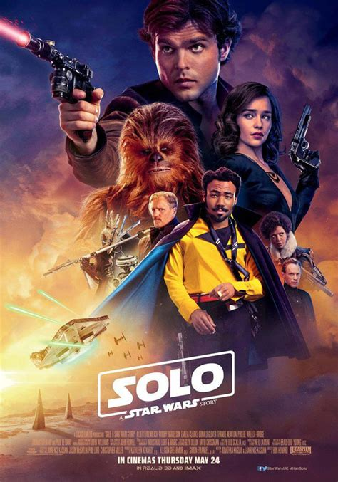 Solo: A Star Wars Story 2018 [DVD] [Blu-Ray] [4K] [3D