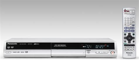 Panasonic DMR-ES10 DVD Recorder | DVD-RAM, DVD-R/RW, and