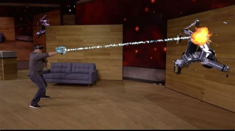 HoloLens: Microsoft shows off 'mixed reality' game Project