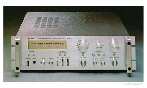Rotel RA-2030 - Manual - Stereo Class AB Integrated DC