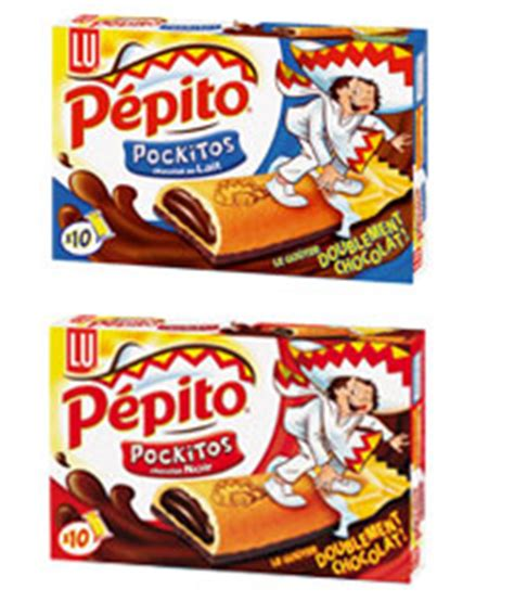 biscuit pepito pockitos (1 barre) (100g) > Calories : 155
