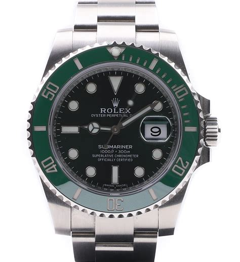 Rolex Submariner Date Green Dial 116610LV 2018 - Millenary