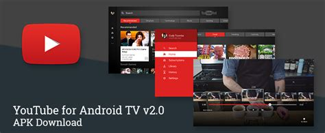 [Update: arm APK] YouTube for Android TV v2