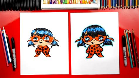 How To Draw Ladybug From Miraculous Ladybug - Art For Kids