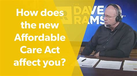 How does the Affordable Care Act affect you? - YouTube