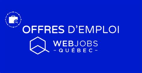 teletravail offre emploi quebec
