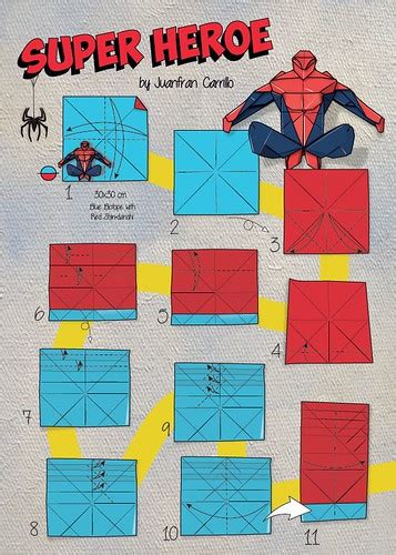 Spiderman by Juanfran Carillo | Full diagram will be in