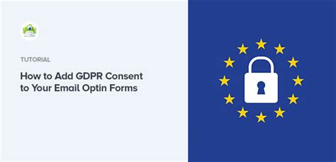 How to Add GDPR Consent in Email Optin Forms and Popups