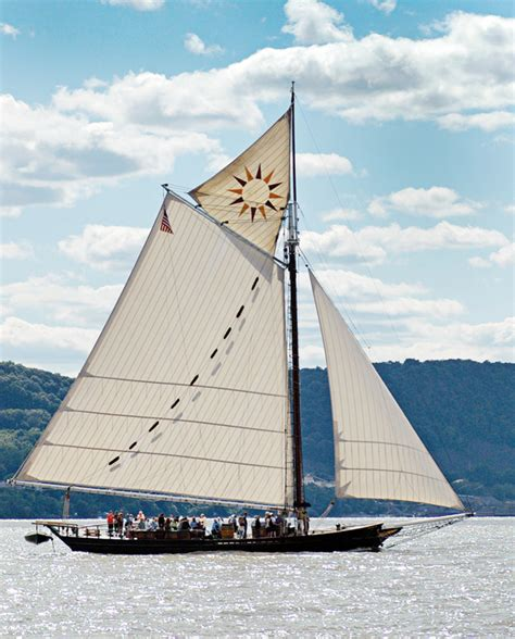 Pete Seeger and the Hudson River sloop Clearwater