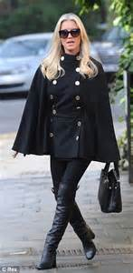 Denise Van Outen is bang on trend as she struts the