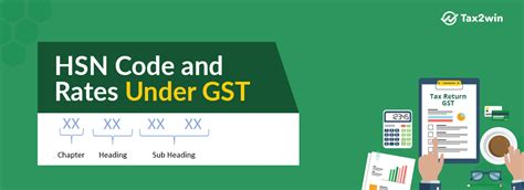 List Of HSN Codes Under Goods And Services Tax In India