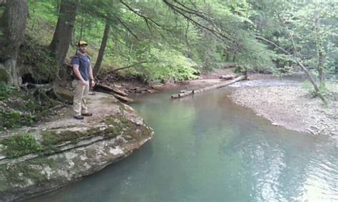 Sheltowee Trace: Turkey Foot Campground to Kentucky River