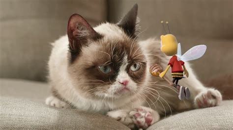 Ad of the Day: Grumpy Cat Gets Stung by the Honey Nut