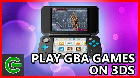 How to convert, install and play GBA games on 3DS - YouTube