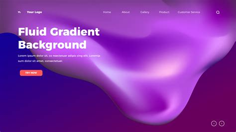 homepage fluid color mesh background