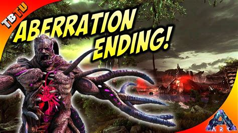 THIS BOSS FIGHT IS CRAZY! ABERRATION ENDING AND ARK