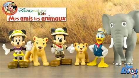 Mickey Collection Disney Nature Mes Amis les Animaux