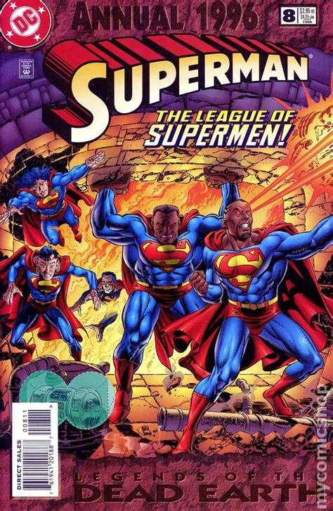 Superman (1987 2nd Series) Annual comic books