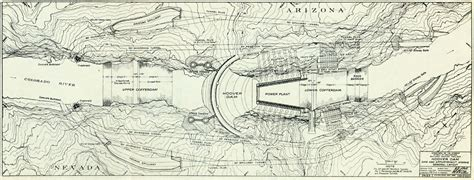 Hoover-dam-contour-map - Hoover Dam - Wikipedia, the free