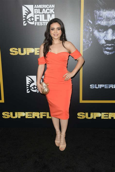 Andrea Londo at the SuperFly Screening During the American