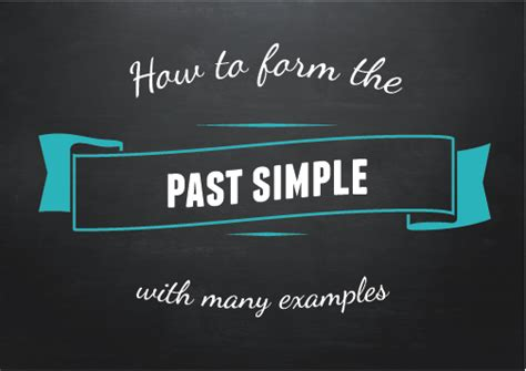 All about the Past Simple Tense