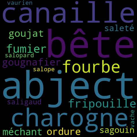 16 synonymes pour « salaud