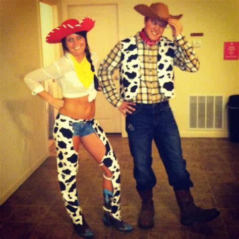 jessie and woody for halloween! | for the holidays! in