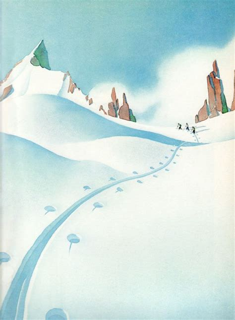 I'm your density | Mountain illustration, Vintage ski