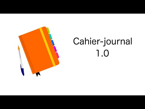 Journal One Click - Le cahier journal